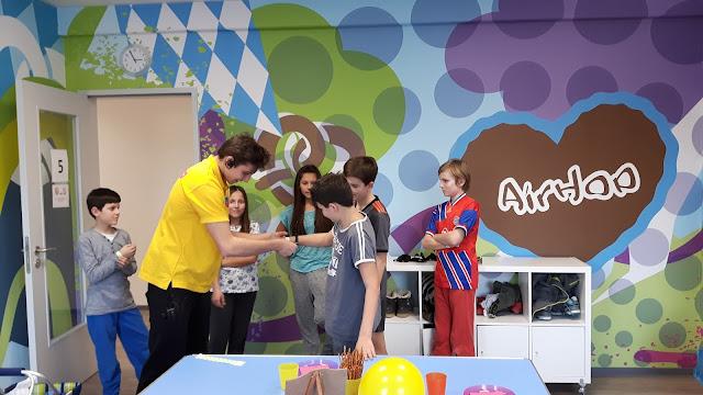 Teenie-Geburtstag feiern Airhop München