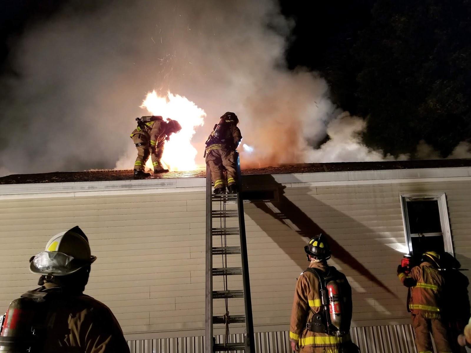 Pleasant Wellsville Regional News Dot Com Fire Destroys Mobile Home Interior And Landscaping Ologienasavecom