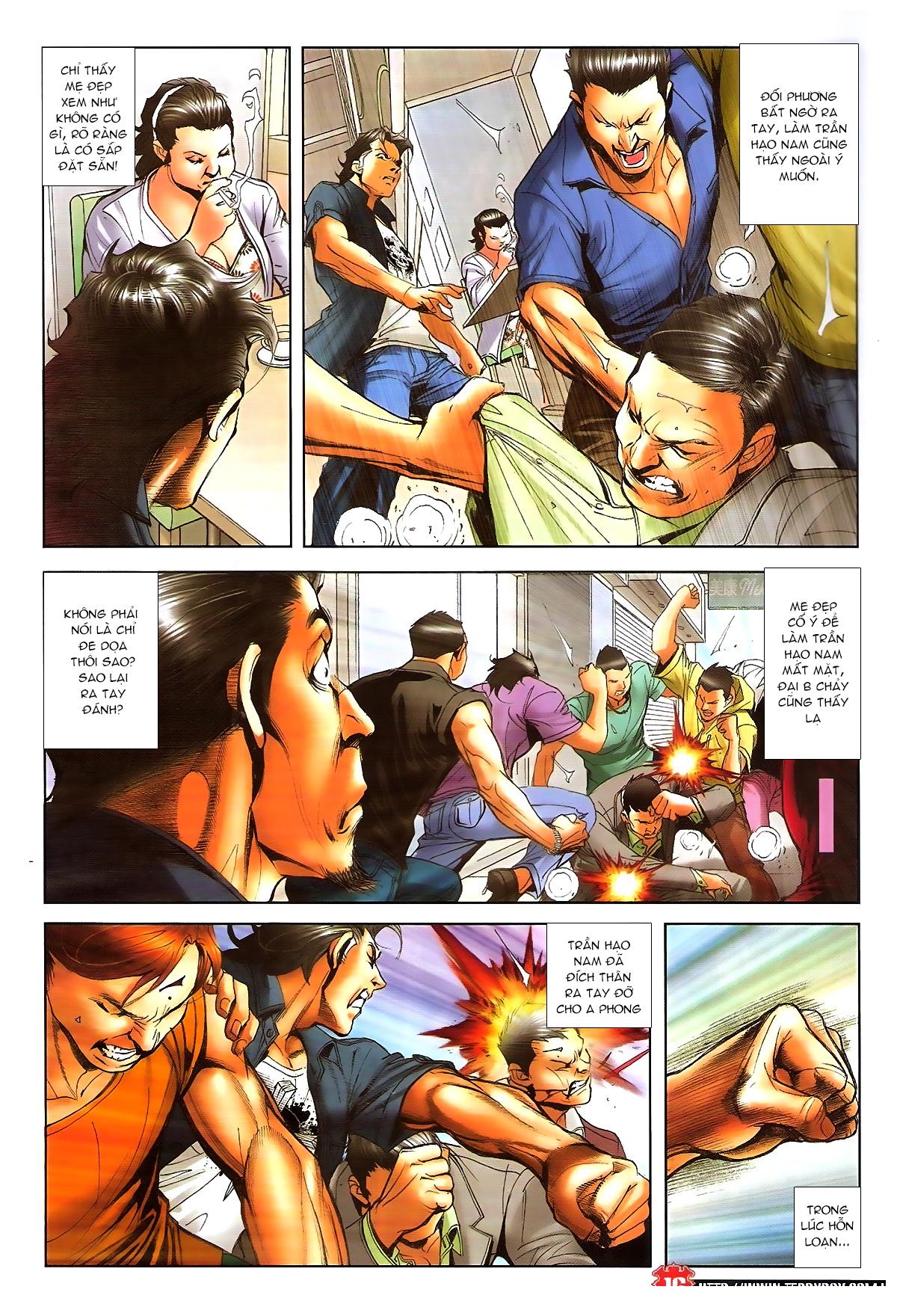 Người Trong Giang Hồ chapter 1648: tự tìm đường chết trang 14