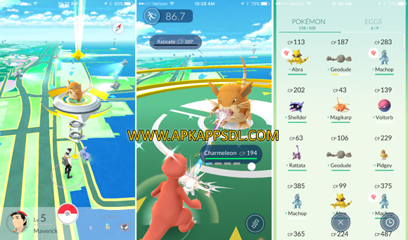 Free Download Pokemon GO Apk v0.29.2 Full Version 2016 (Work for Intel Android) Terbaru Gratis