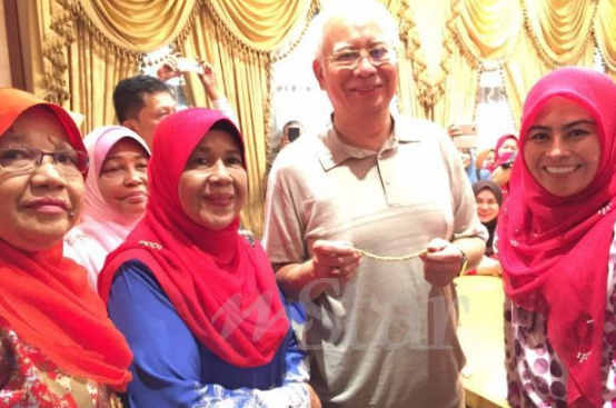 Gelang emas derma tabung ikat jamin ditawar RM3,000