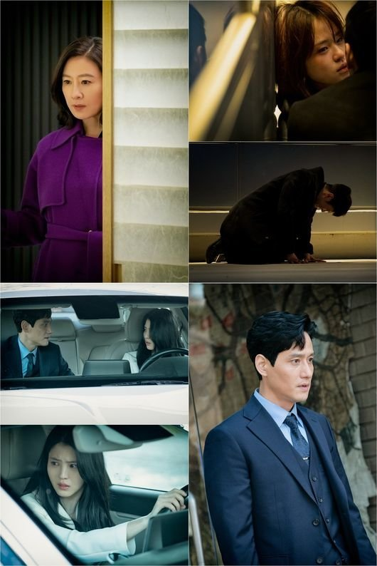 Kim Heeae counterattack brings about an unpredictable scene in the still cut of drama 'The World of The Married'