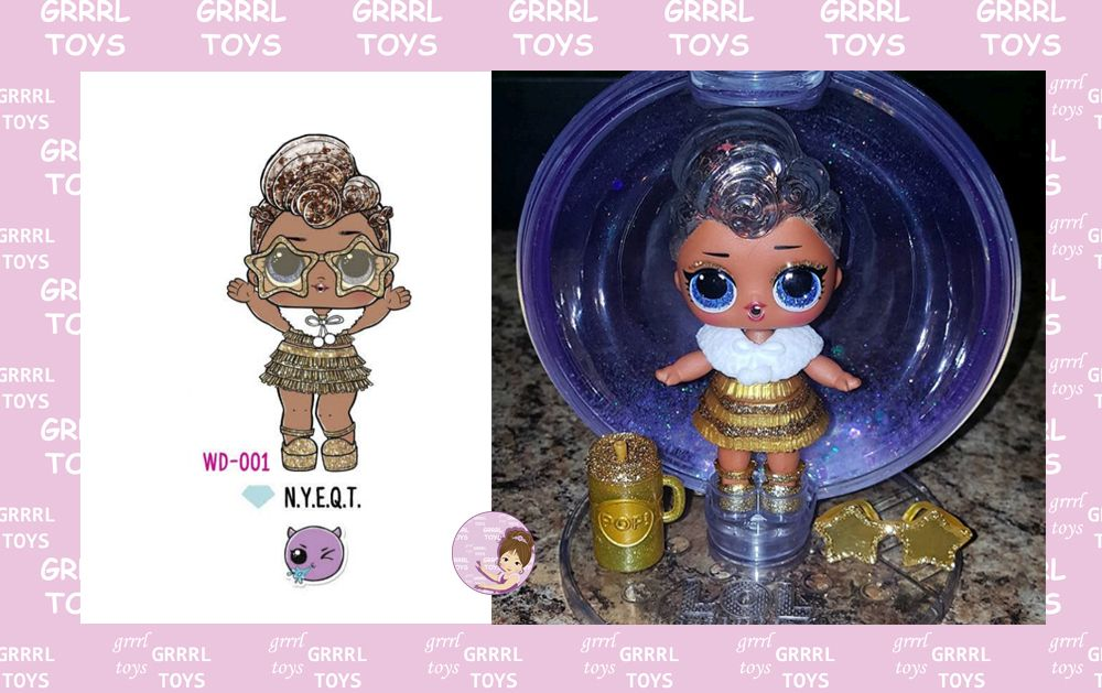 N.Y.E.Q.T. Winter Disco 001 new doll for Christmas 2019 Glam Club