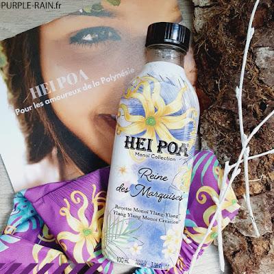 Blog PurpleRain - Monoï Hei Poa • La Reine des Marquises