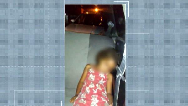Criança é esquecida dentro de carro de transporte por aplicativo, em João Pessoa