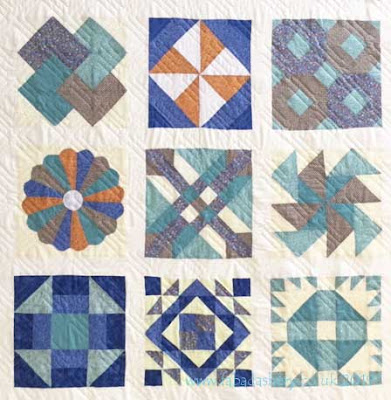 Sampler Quilt - GCSE Texiles Project, a family affair