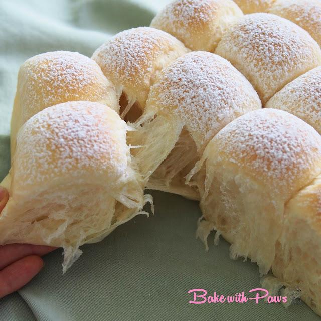 Sourdough Japanese Soft White Buns