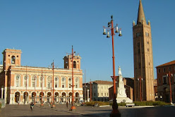 Piazza Saffi stands at the heart of the city of Forlì in Emilia-Romagna