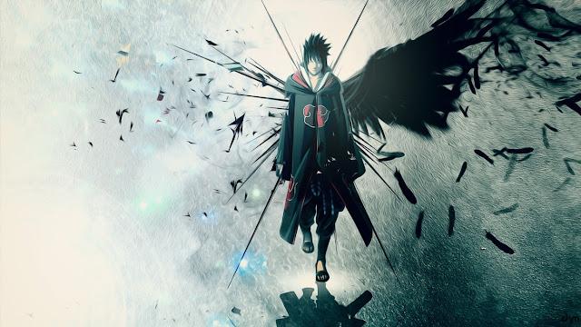 wallpaper sasuke akatsuki
