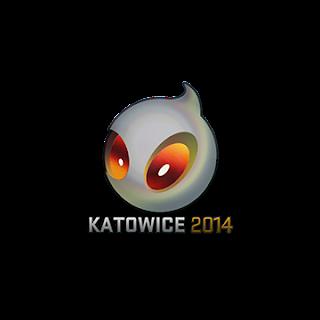 Sticker (naklejka) Team Dignitas | Katowice 2014 (Holo)