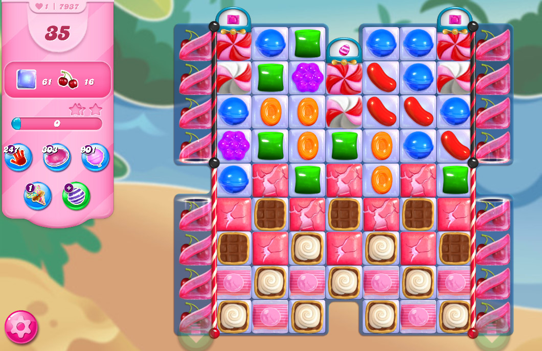 Candy Crush Saga level 7937