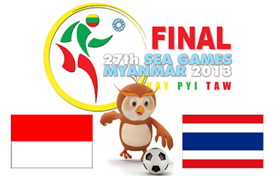 Indonesia vs Thailand Final SEA Games 2013