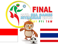 Indonesia U23 vs Thailand U23 Final SEA Games 2013