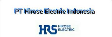 Lowongan Kerja Ejip PT Hirose Electrik Indonesia Oktober 2019