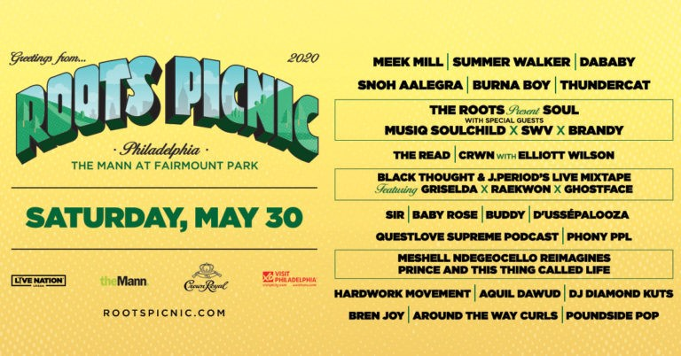 "The Roots Announce 2020 ""Roots Picnic"