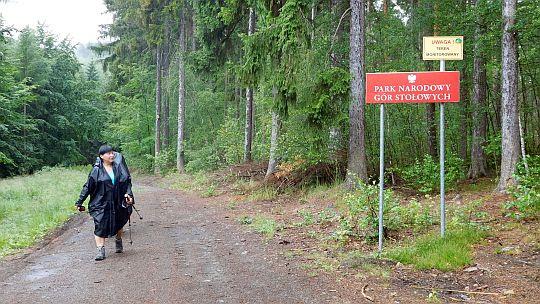 Opuszczamy Park Narodowy Gór Stołowych.
