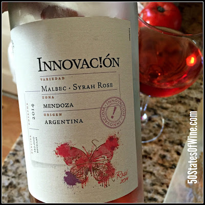 Wine of the Week: Santa Julia Innovac!ón Malbec-Syrah Rosé 2014