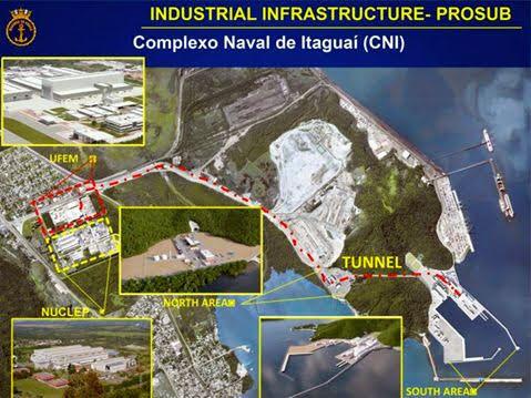 Infraestructuras para el Programa del Submarino Nuclear Brasileño SN-BR (Marihna Brasil)