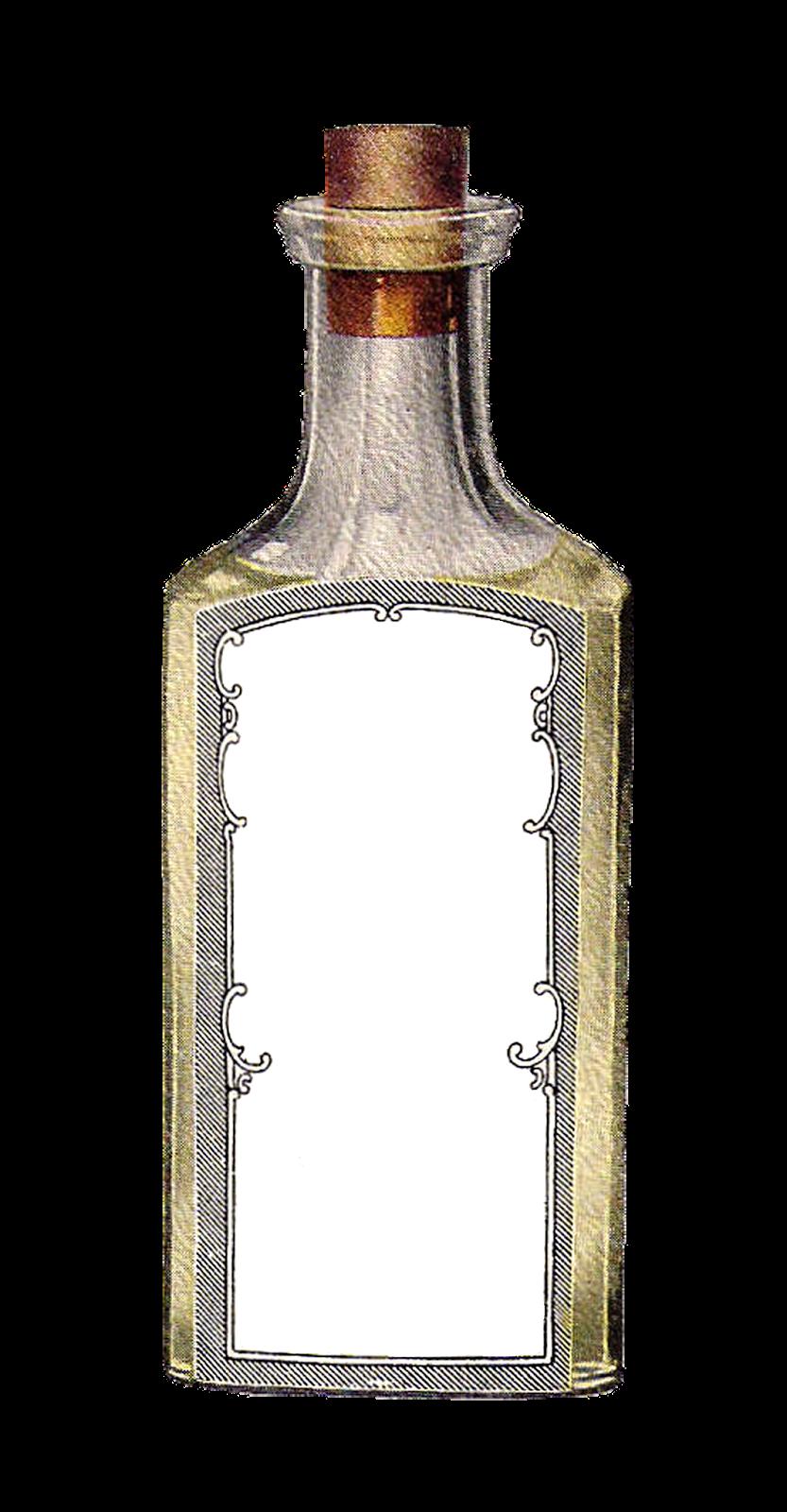 Antique Images: Free Blank Digital Gift Tag Label Designs ...