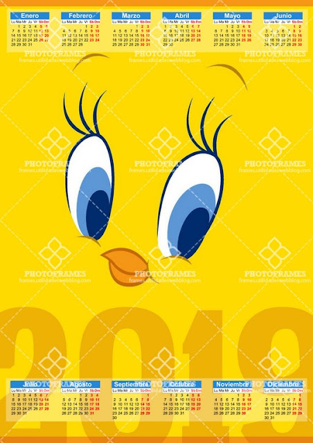 calendario de Piolin