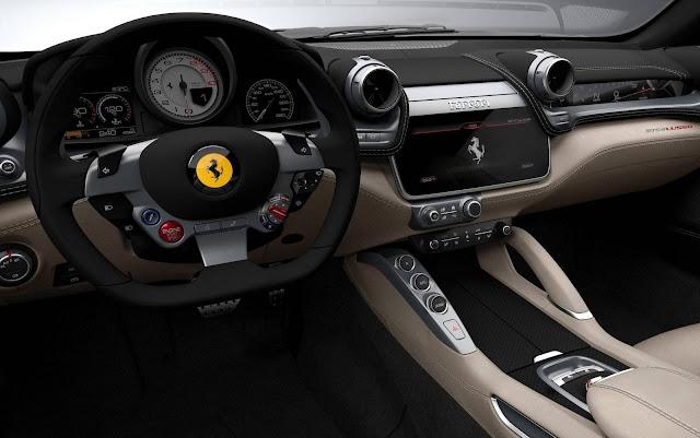 2017 Ferrari GTC4 Lusso - painel