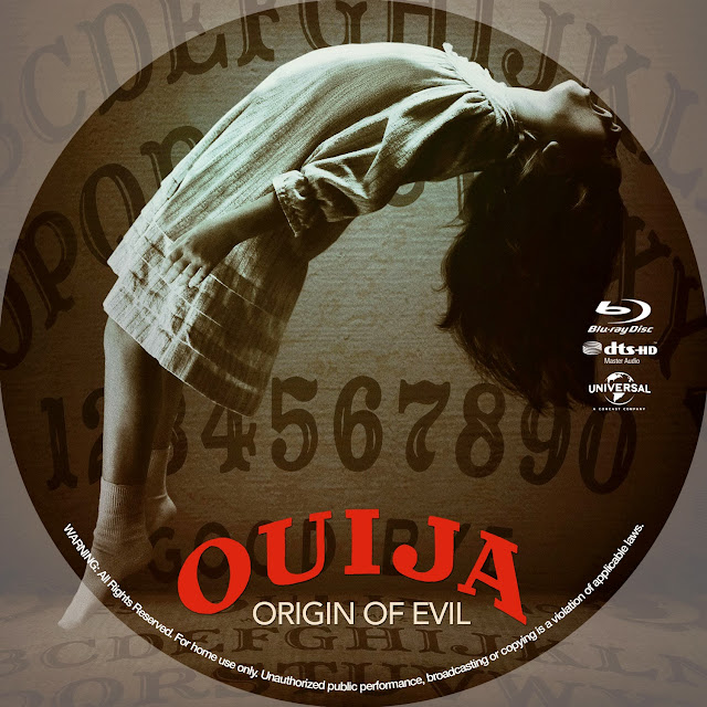 Ouija Origin Of Evil Bluray Label
