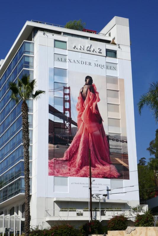 Giant Alexander McQueen FW18 billboard
