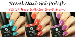 Revel Nail Gel Polish Swatch Gallery