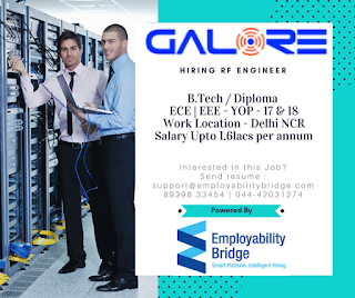 Diploma/ B Tech/ BE Jobs Opening in Galore Networks Pvt Ltd For Service assurance/ Engineer /Technician Position in Angul, Odisha Location