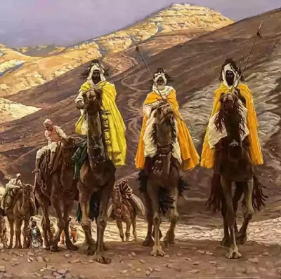 During the Journey of the Magi, they had to face difficulties which are narrated by one of the Magi.