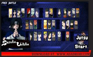 Download Naruto Senki Mod Sasuke Adventure V2 Terbaru | New Mod Apk 2021