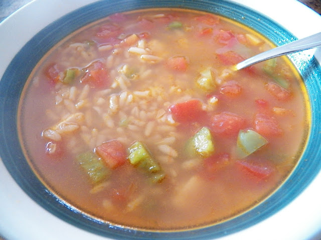 Hurricane Irma Chicken and Rice Soup for #Soupsaturdayswappers