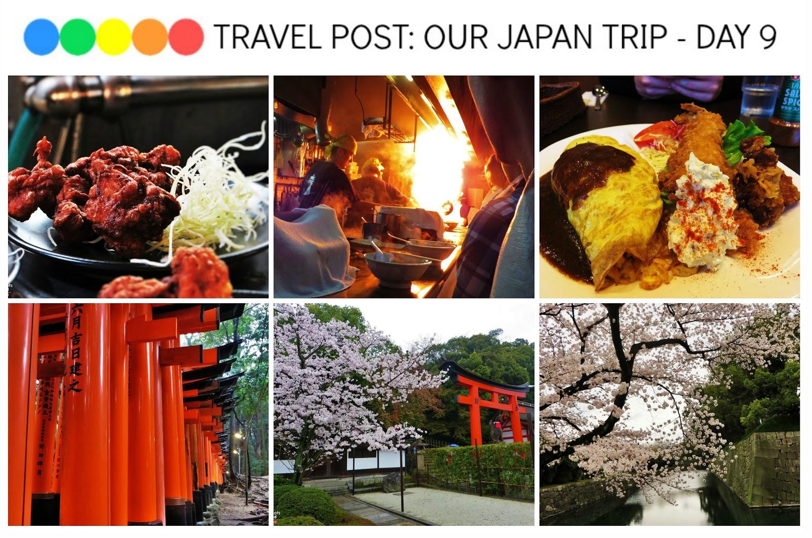 Exploring Kyoto - Fushimi Inari Taisha, Nijo Castle, Menbakaichidai Ramen Restaurant