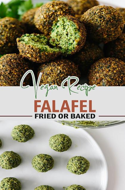 FALAFEL RECIPE (FRIED OR BAKED) #recipe #vegan #healthy #dietrecipe
