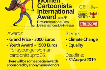 Women Cartoonist International Award 2019