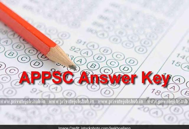 APPSC Answer Key