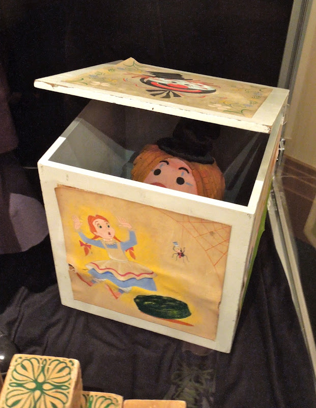 Mary Poppins Jack in the box toy prop