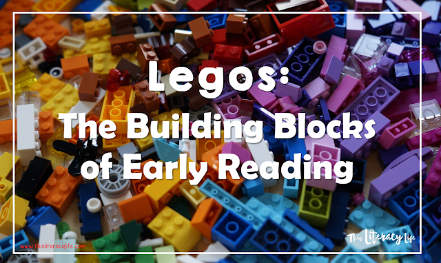 Children love Legos, but they also serve a greater purpose to help with early reading skills!