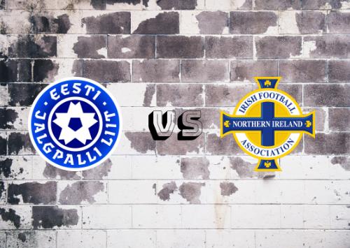 Estonia vs Irlanda del Norte  Resumen