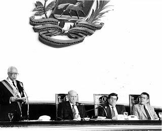 Toma de posecion de Ramón J. Velásquez. Efemérides Venezolanas del Mes de Junio. Efemérides de Venezuela. Tal dia como hoy en la Historia. Hoy en la Historia.