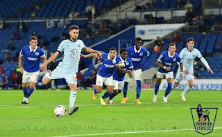 تشيلسي يفوز خارخ ديار ضد برايتون ضمن فعاليات الجولة الأولى من الدوري الإنجليزي
