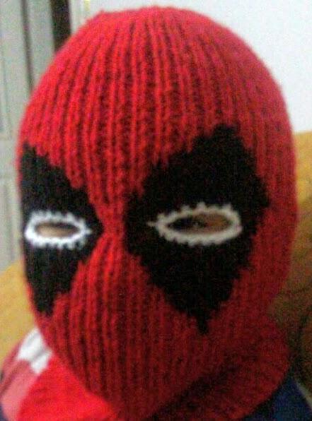 Deadpool örgü şapka Deadpool Knit Hat Mavi Dünya