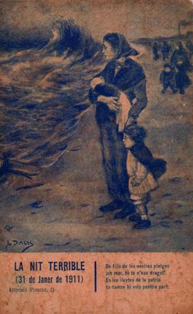 nit terrible - El temporal de la Candelária o Candelera, el terrible temporal de 1911