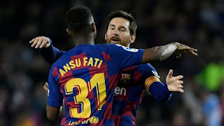 Manchester United make a second bid for Barcelona youngster Ansu Fati
