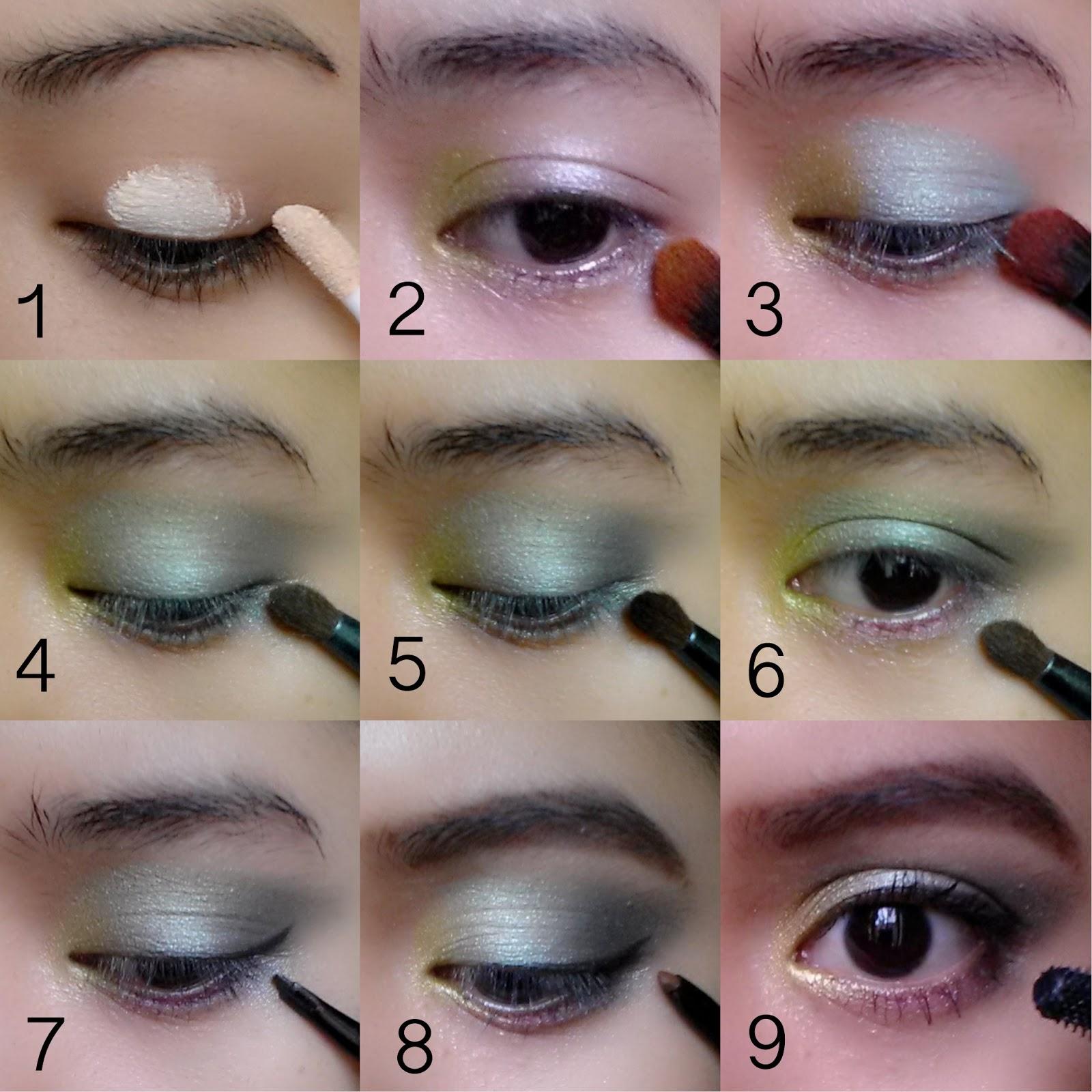 Floral Eye Makeup Look Tutorial