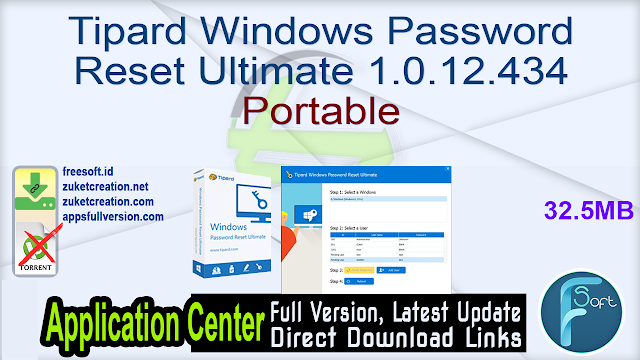 Tipard Windows Password Reset Ultimate 1.0.12.434 Portable