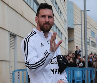 YOU ARE THE LEGEND...BEST WISHES🤩 #Messi...