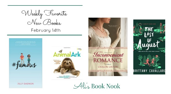 Weekly Favorite New Books February 14th