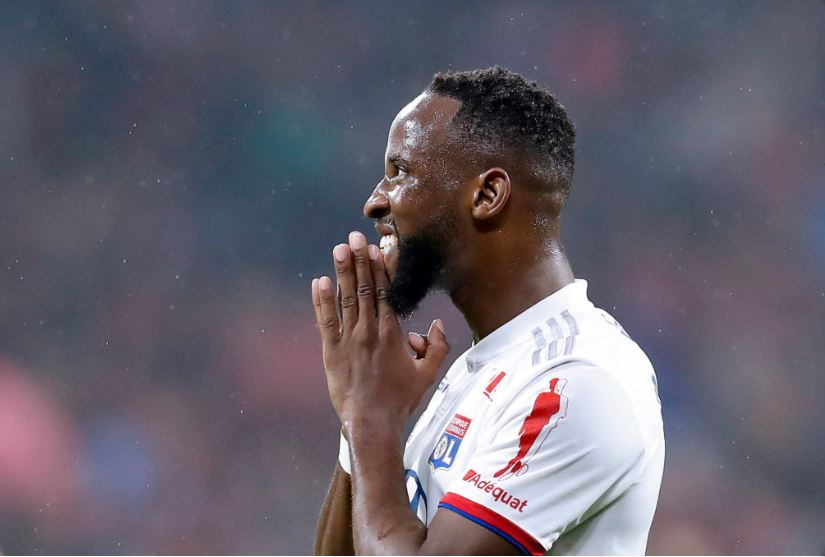 Olympique Lyonnais striker Moussa Dembele
