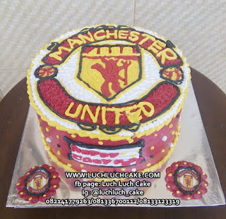 Buttercream Cake Manchester United